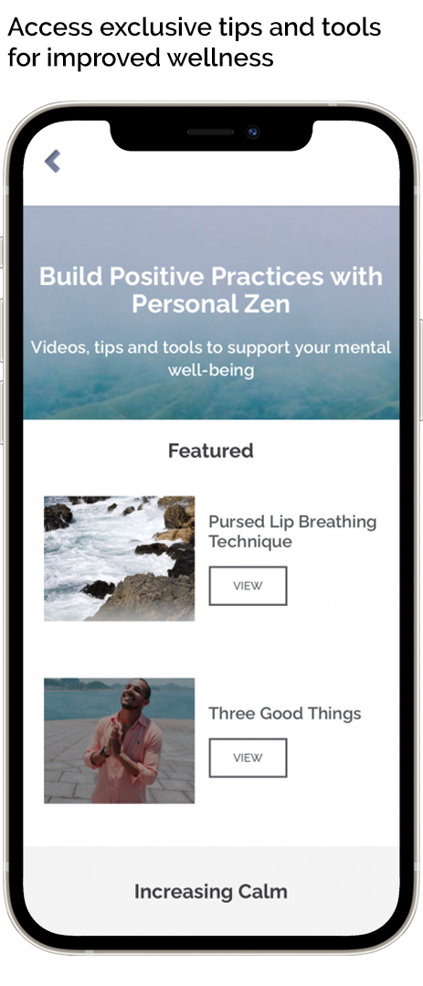Curated by Dr. Tracy Dennis-Tiwary, creator of Personal Zen, our tips and tools are bite-sized, easy-to-use, and help build Positive Practices.
